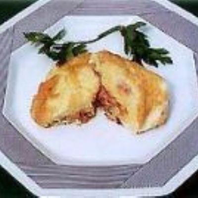 Batatas Nevadas com Atum