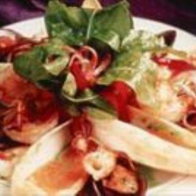 Salada com Frutos do Mar