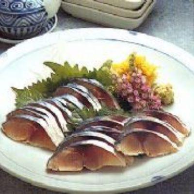 Sashimi de Cavalinha ao Vinagre - Shimesaba
