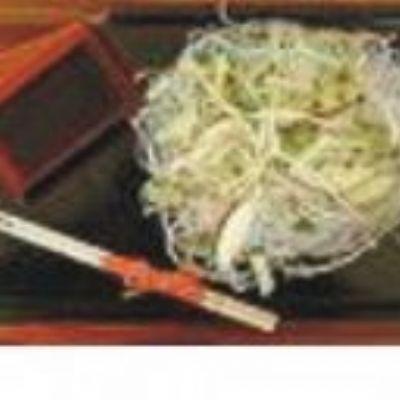 Salada de brotos de feijão