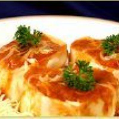 Canelone de espinafre
